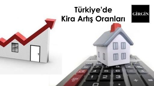 Türkiye'de Kira Artış Oranları